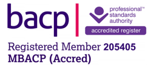 BACP Accredited Counsellor logo