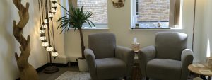 Michelle Manzi's counselling room in Finchley